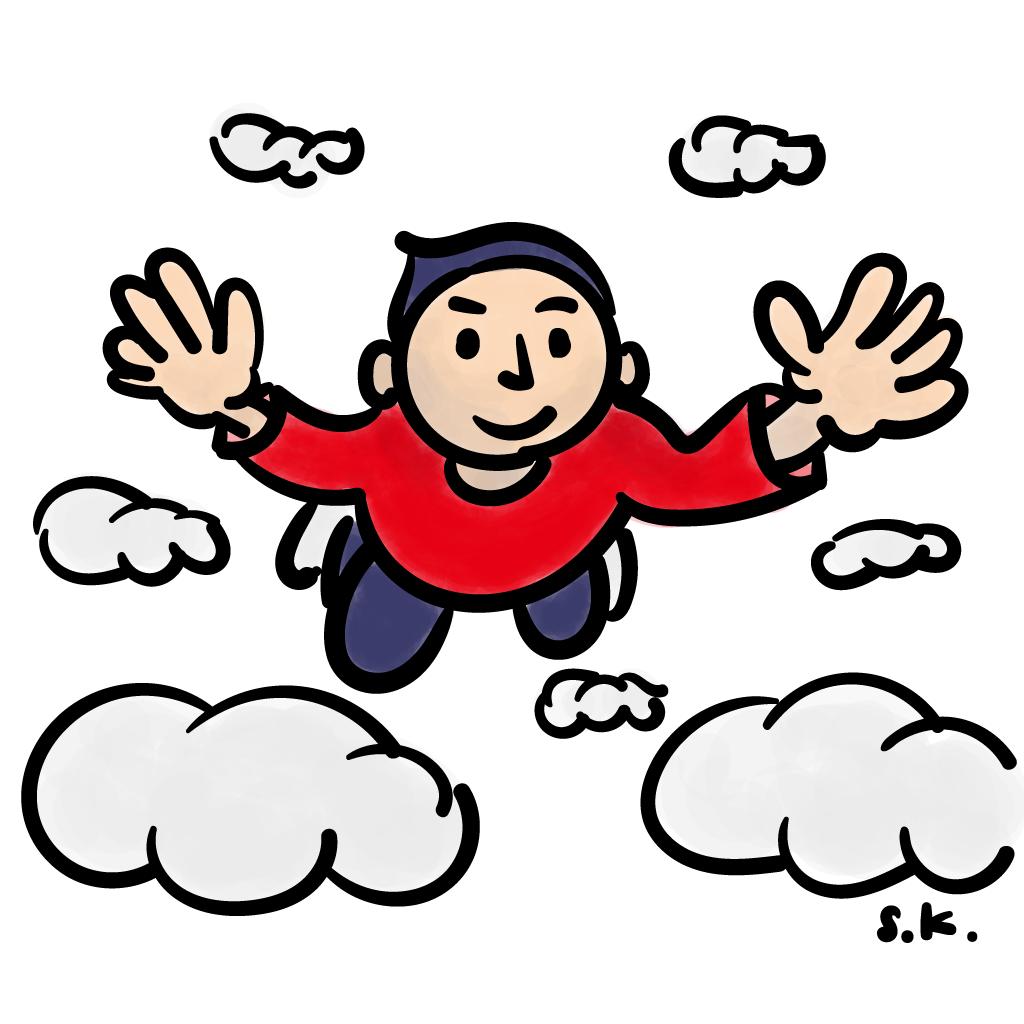 今日の一枚 October 11, 2016 Flying