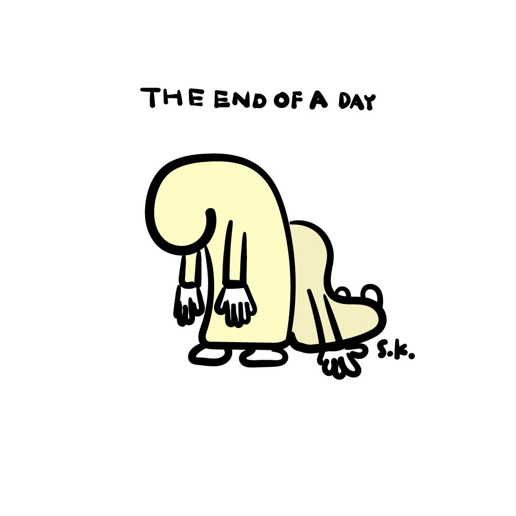 今日の一枚 October 17, 2016 その2 THE END OF A DAY