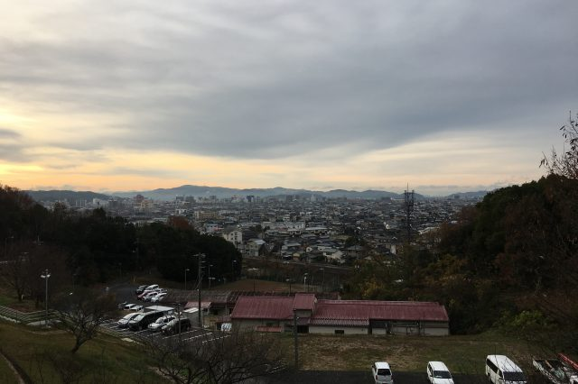 今朝の倉敷 2016年12月12日